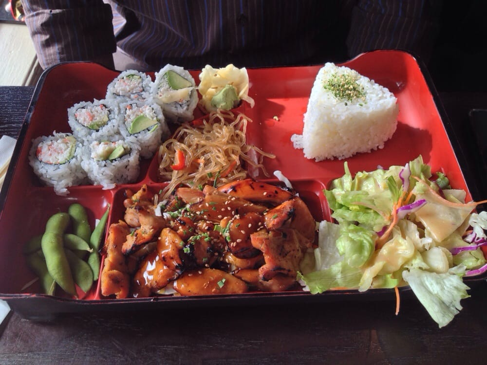 chicken bento box lunch special yelp. Black Bedroom Furniture Sets. Home Design Ideas