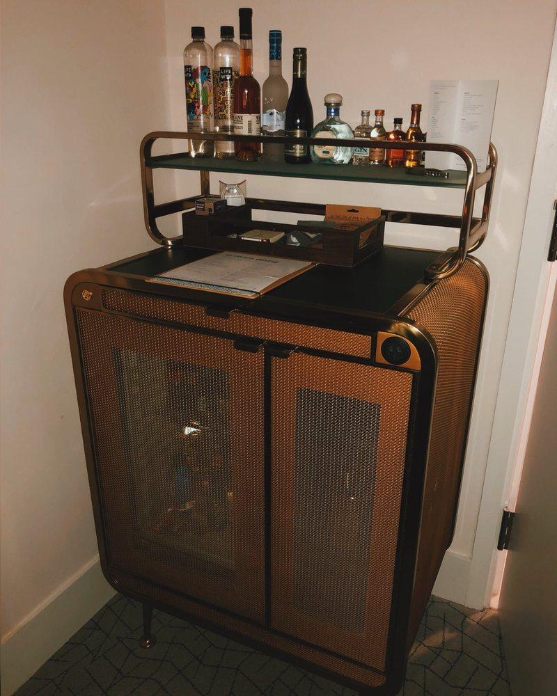 Vintage style mini bar - Yelp