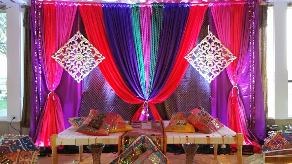 Home Wedding Decor Ladies Sangeet Decorations Sangeet Mehndi Decor Jago Traditional Punjabi