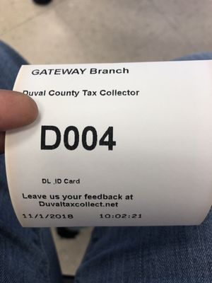 duval county tax collector drivers license renewal