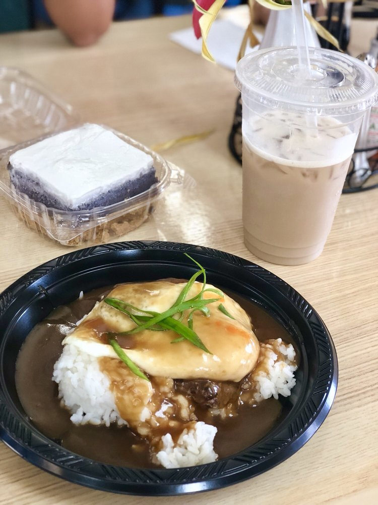 Loco Moco And Okinawan Sweet Potato Pie Yelp