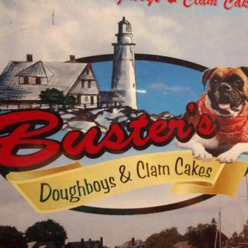 Buster S Doughboys Clam Cakes Menu