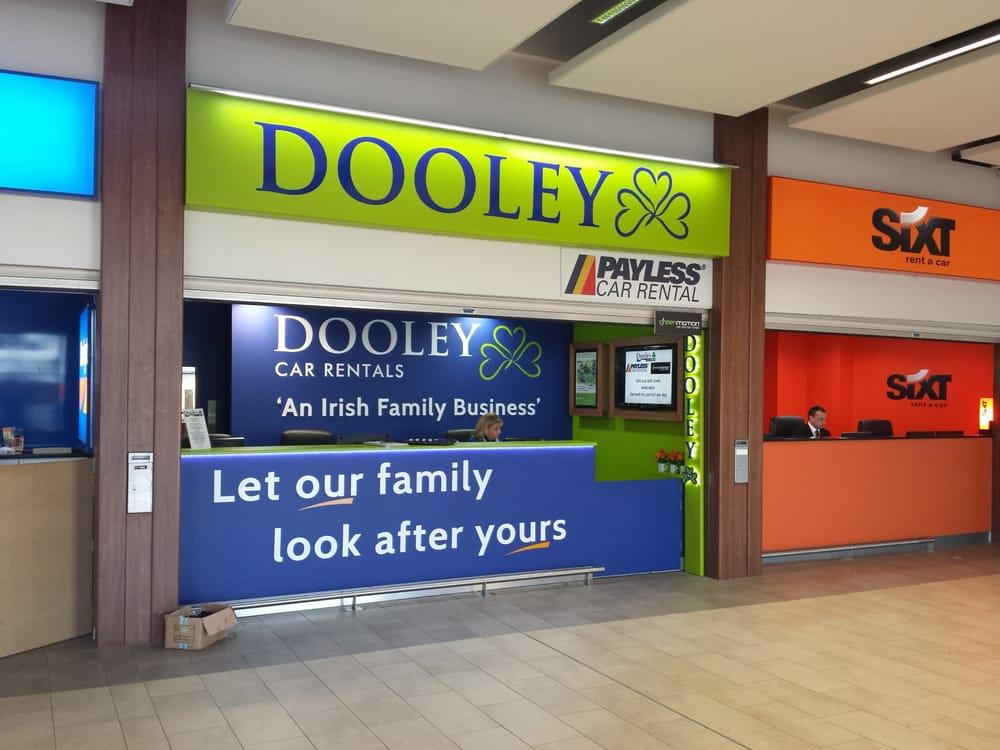 Dan Dooley Car Rental: New Dooley Desk At Dublin Airport, Terminal 2, March 2014