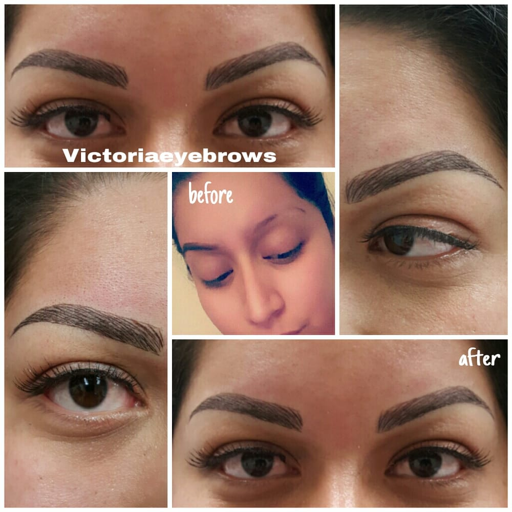 Microblading 3d Hair Strokes: Microblading 3D Hair Strokes Help Fill In Gaps And Scar