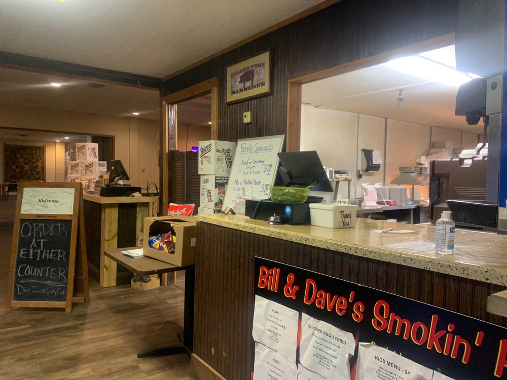 Bill & Dave's Smokin' Pit: 1527 11th St, Tell City, IN