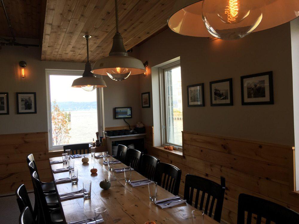 Communal Dining Room at Sleepy Hollow Hudson Farmer & Fish table ...