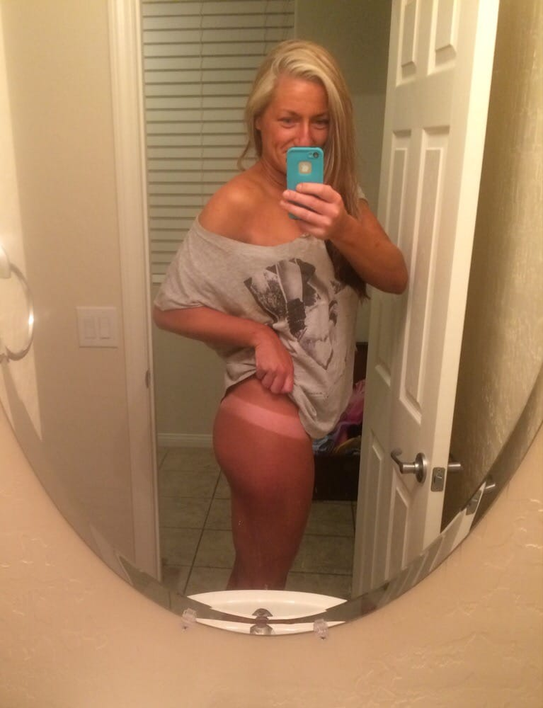 my wifes sexy tanlines web site