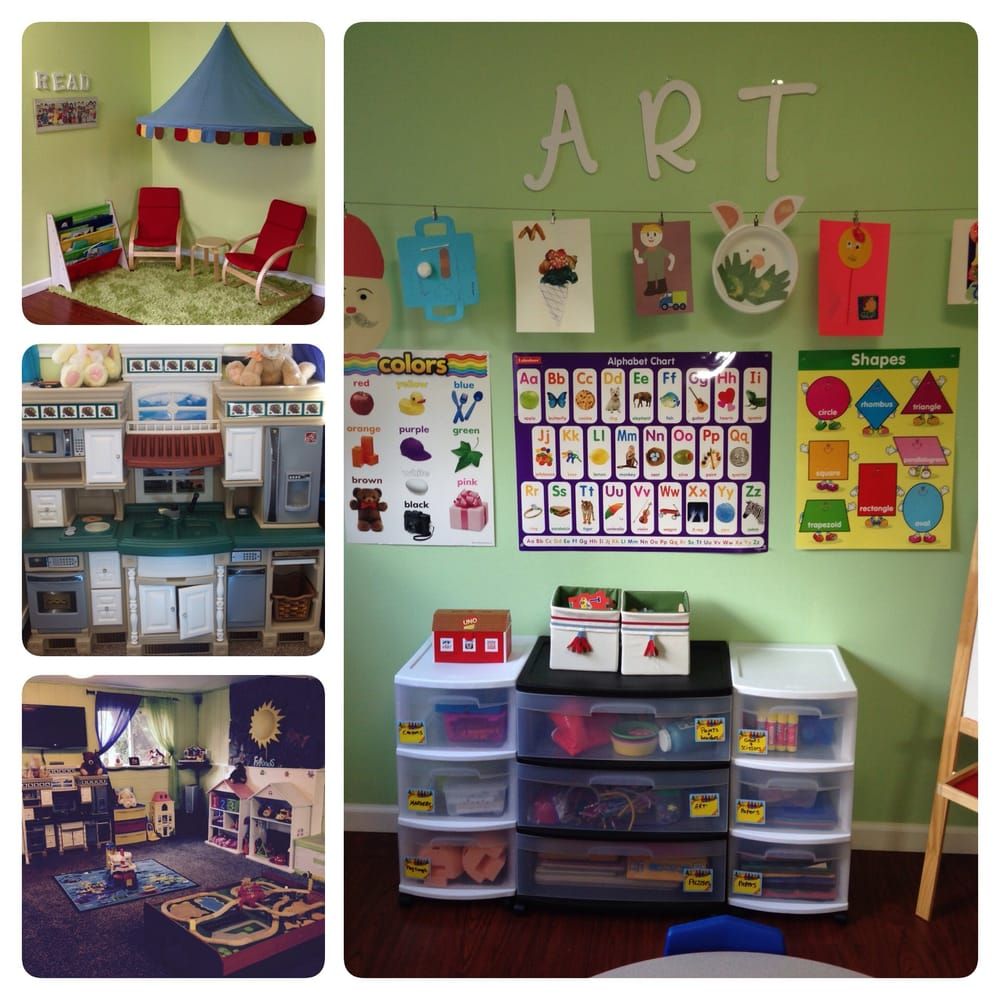 Butterfly home daycare child care day care kirkland for Activity room