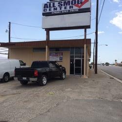 All Smog Center Motor Vehicle Inspection Testing 83700 Indio Blvd Indio Ca United