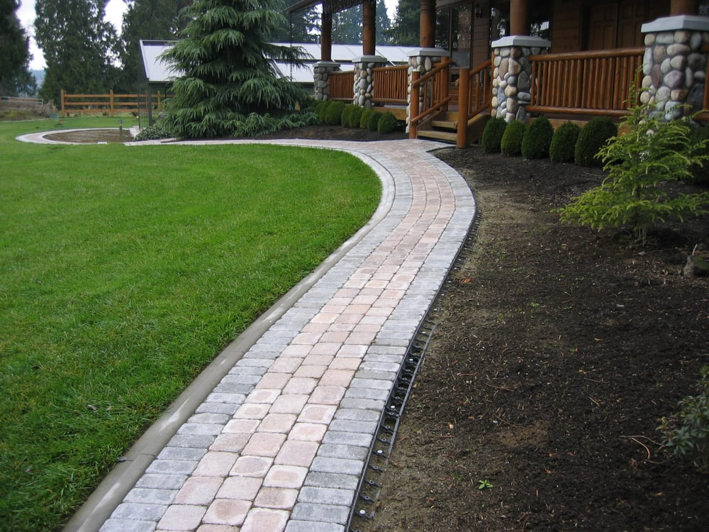 Mowable Edge For Pavers, As Compared To Common Plastic