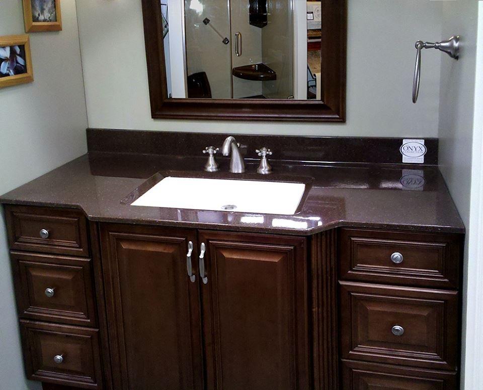 Photo Of Silverado Showers Fife Wa United States Custom Vanity Top W