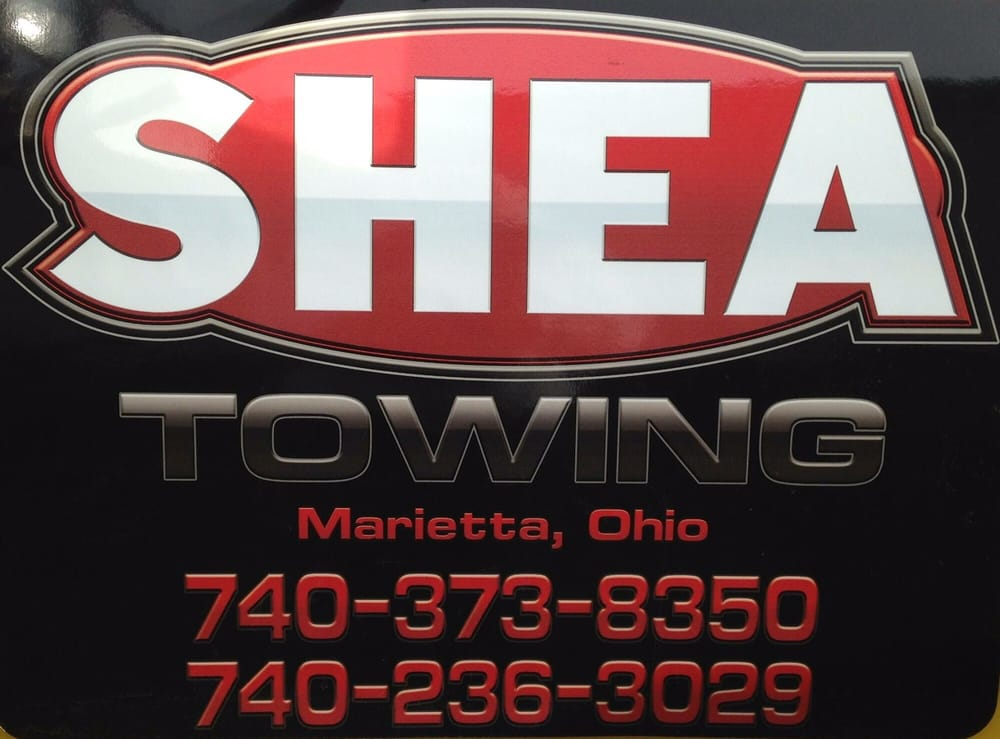 Shea Towing: 19510 State Rte 550, Marietta, OH