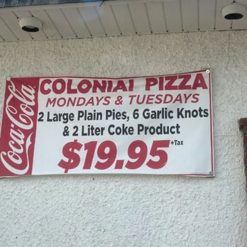 Colonia pizza colonia new jersey