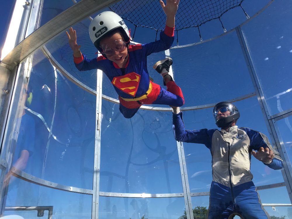 SuperFly Skydiving Simulator: 23603 N Hwy 99, Acampo, CA
