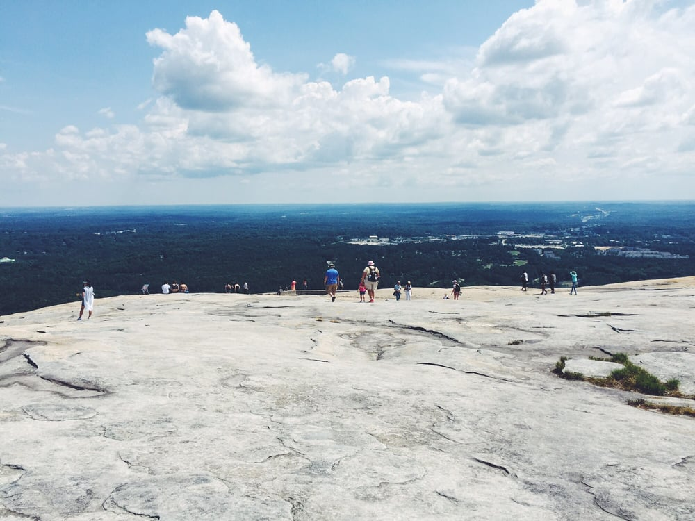 View From The Top Of Stone Mountain Yelp