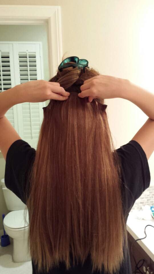 Putting on the extensions - Yelp
