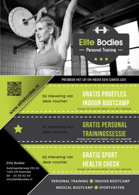 personal trainer flyer
