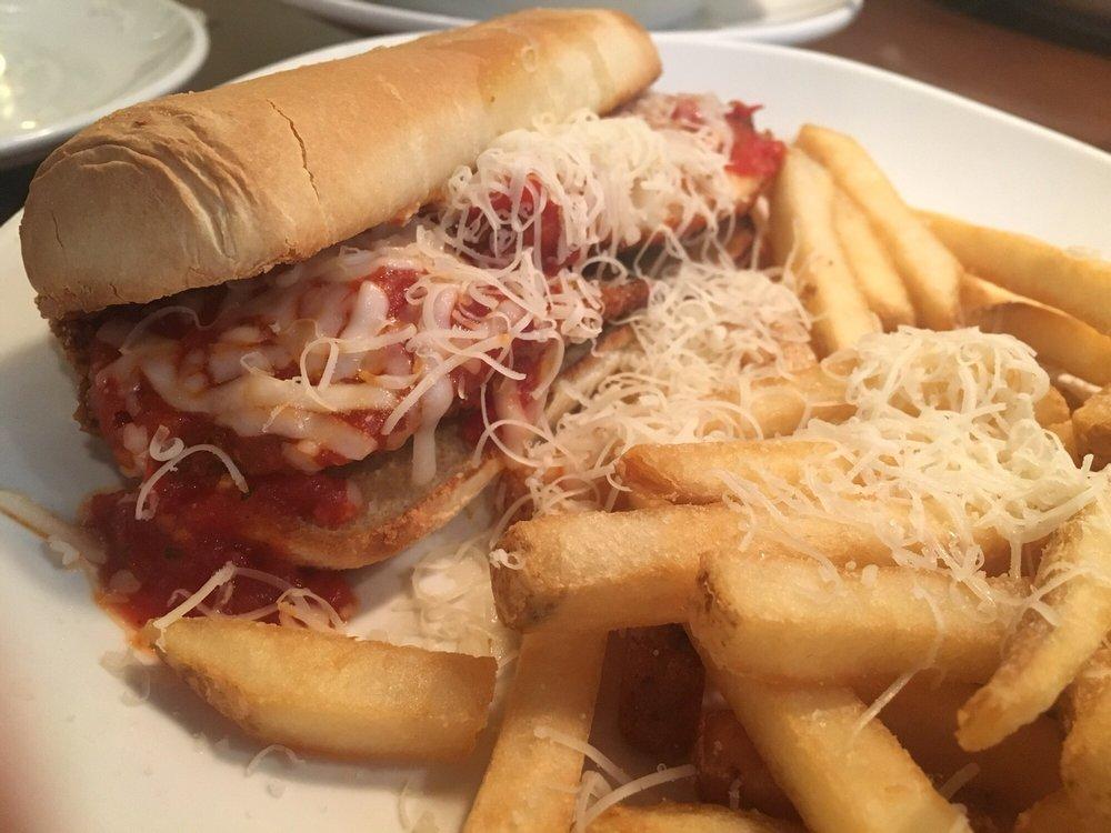 Chicken chicken parmigiana breadstick sandwich yelp - Olive garden reservations policy ...