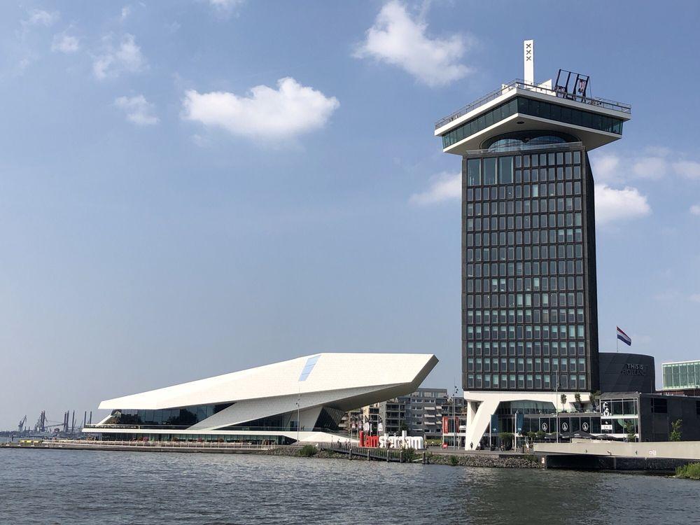 Eye Filmmuseum: IJpromenade 1, Amsterdam, NH