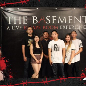 The basement a live escape room experience 114 photos 674 reviews escape games 12909 for The basement a live escape room experience events