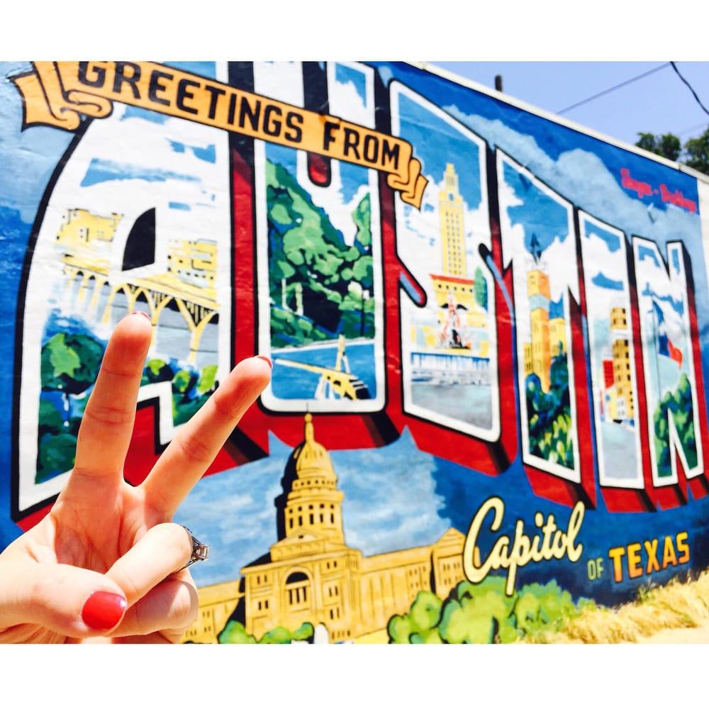 Greetings from austin postcard mural 65 photos 39 reviews photo of greetings from austin postcard mural austin tx united states kristyandbryce Choice Image