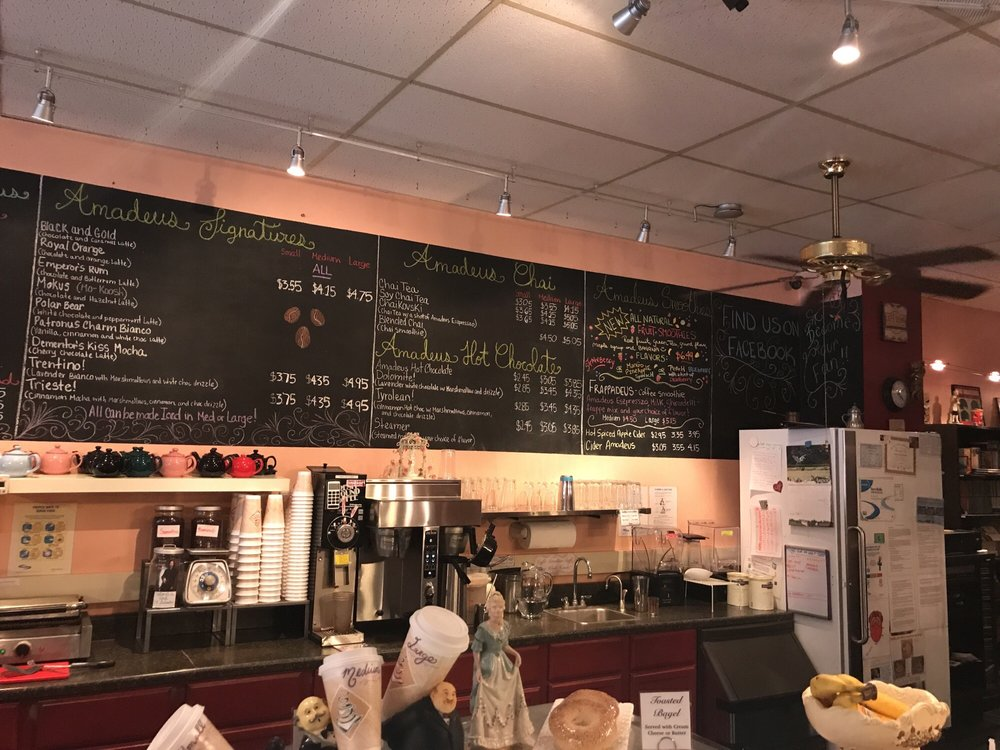 Caffe Amadeus: 628 Philadelphia St, Indiana, PA