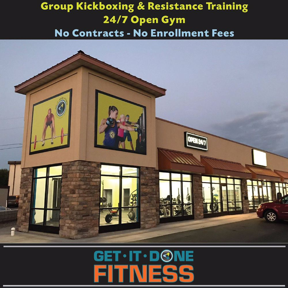Get It Done Fitness: 308 County Road 81 Service Rd, Osseo, MN