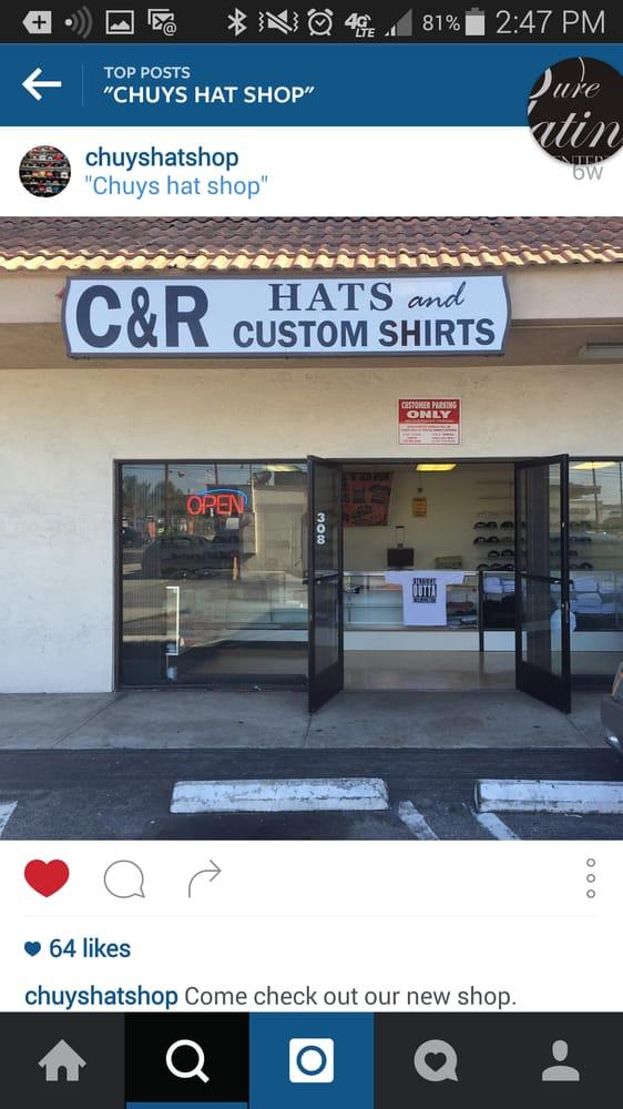 C & R Hats and Custom Shirts