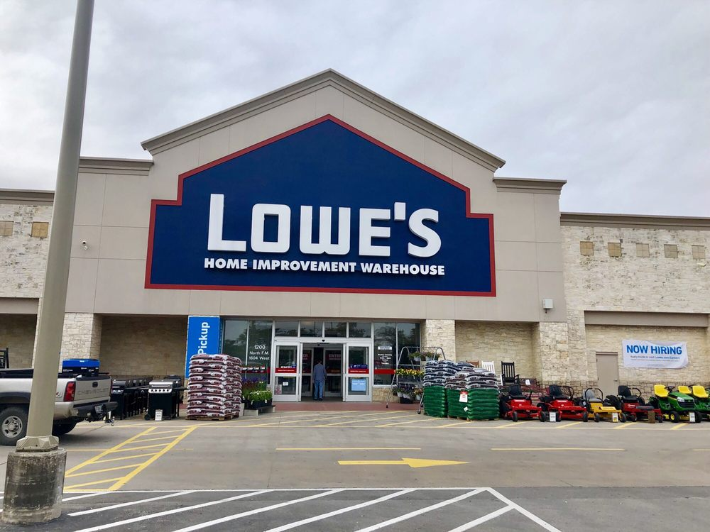 Lowe's Home Improvement: 1200 North FM 1604 West, San Antonio, TX