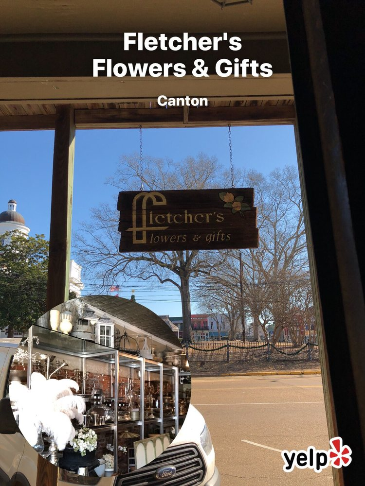 Fletcher's Flowers & Gifts: 119 N Union St, Canton, MS