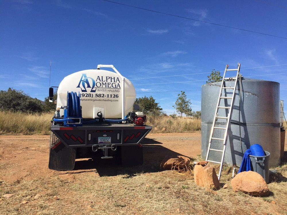 Alpha Omega Water Hauling: Prescott Valley, AZ