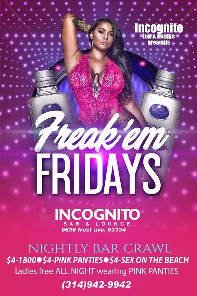 Incognito Bar and Lounge: 8636 Frost Ave, Berkeley, MO
