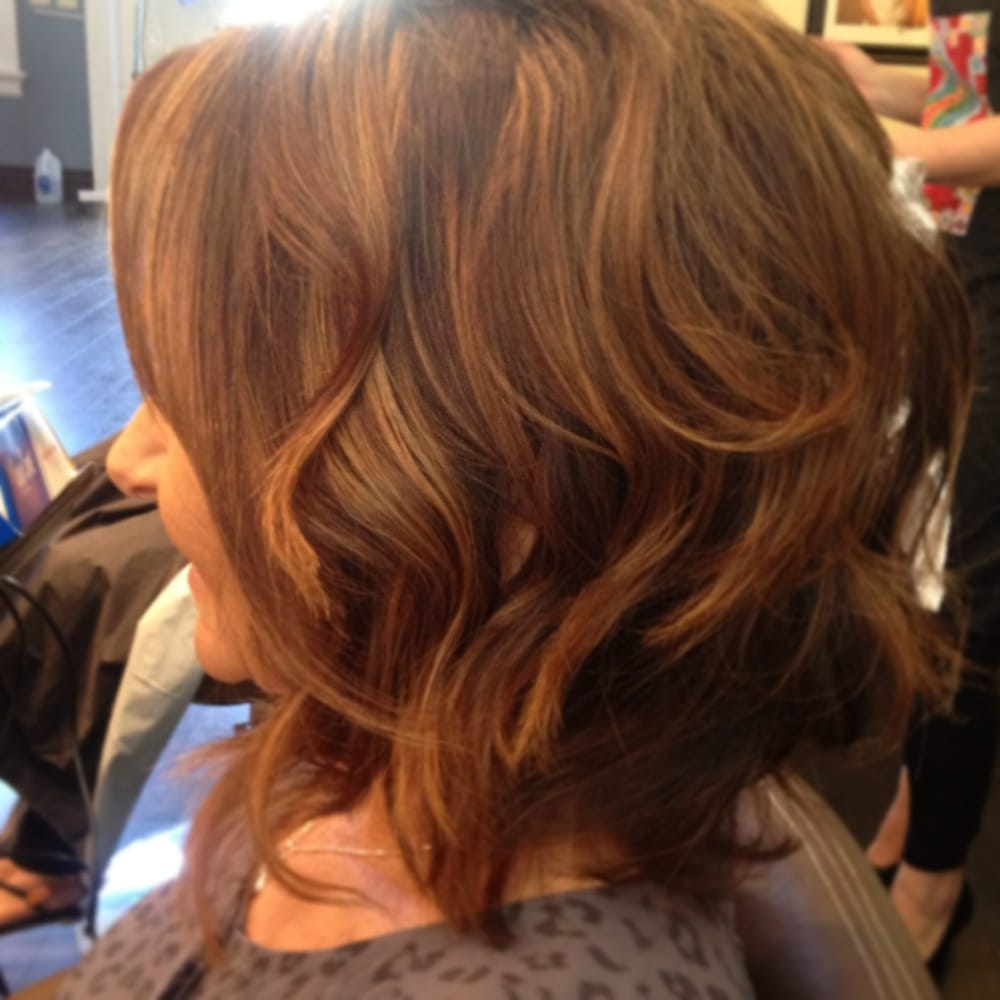 Chocolate Brown Hair Color With Light Brown Highlights And Soft