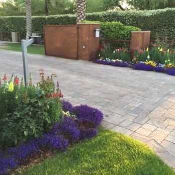 Photo Of Divine Design Landscaping   Phoenix, AZ, United States. Driveway  Entrance On