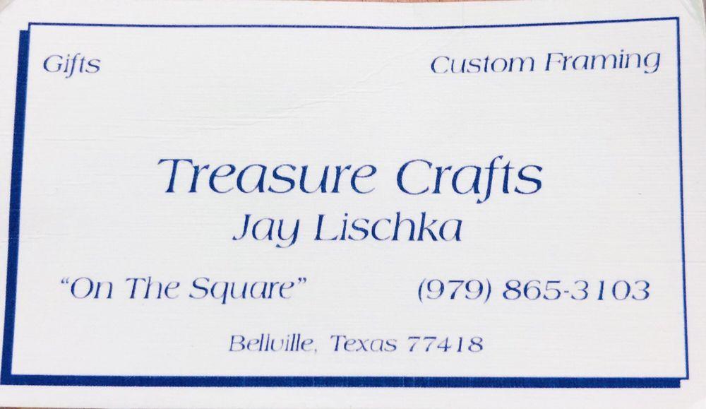 Treasure Crafts: 10 S Holland St, Bellville, TX
