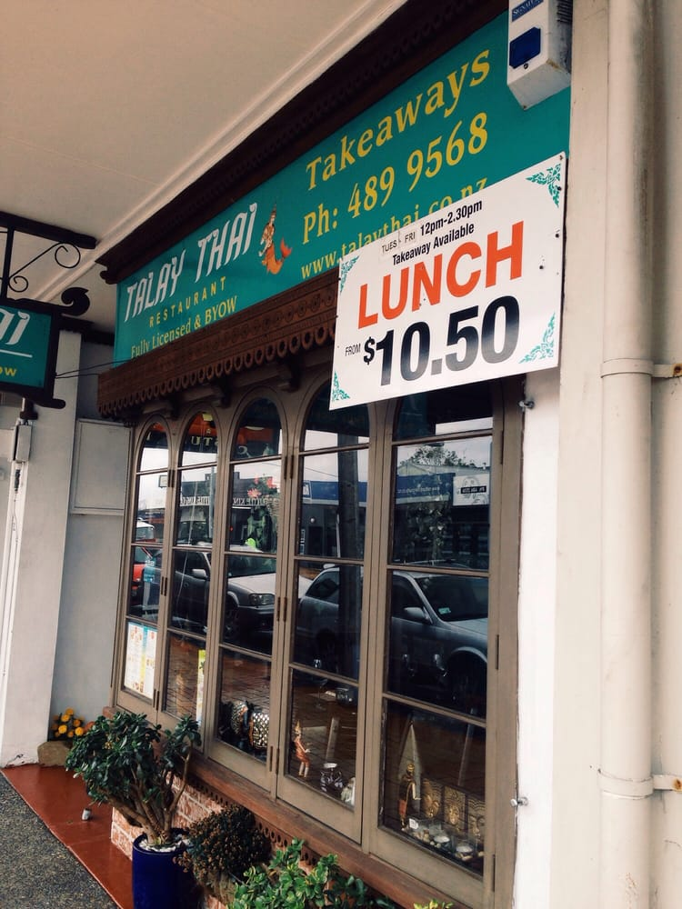 Talay thai thai 83 85 kitchener rd milford auckland for Auckland thai boutique cuisine