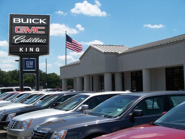 King Cadillac Buick GMC - Yelp