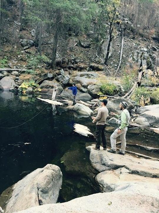 Mountain stream fishing yelp for Fly fishing yosemite