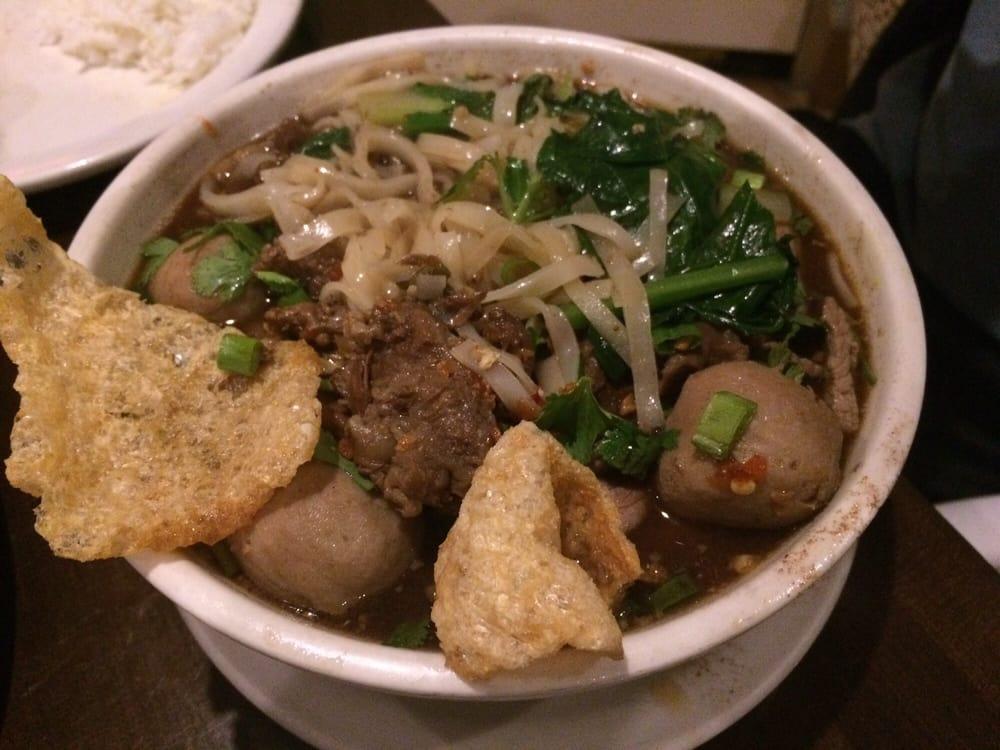 Floating market noodle soup yelp for Arlington thai cuisine