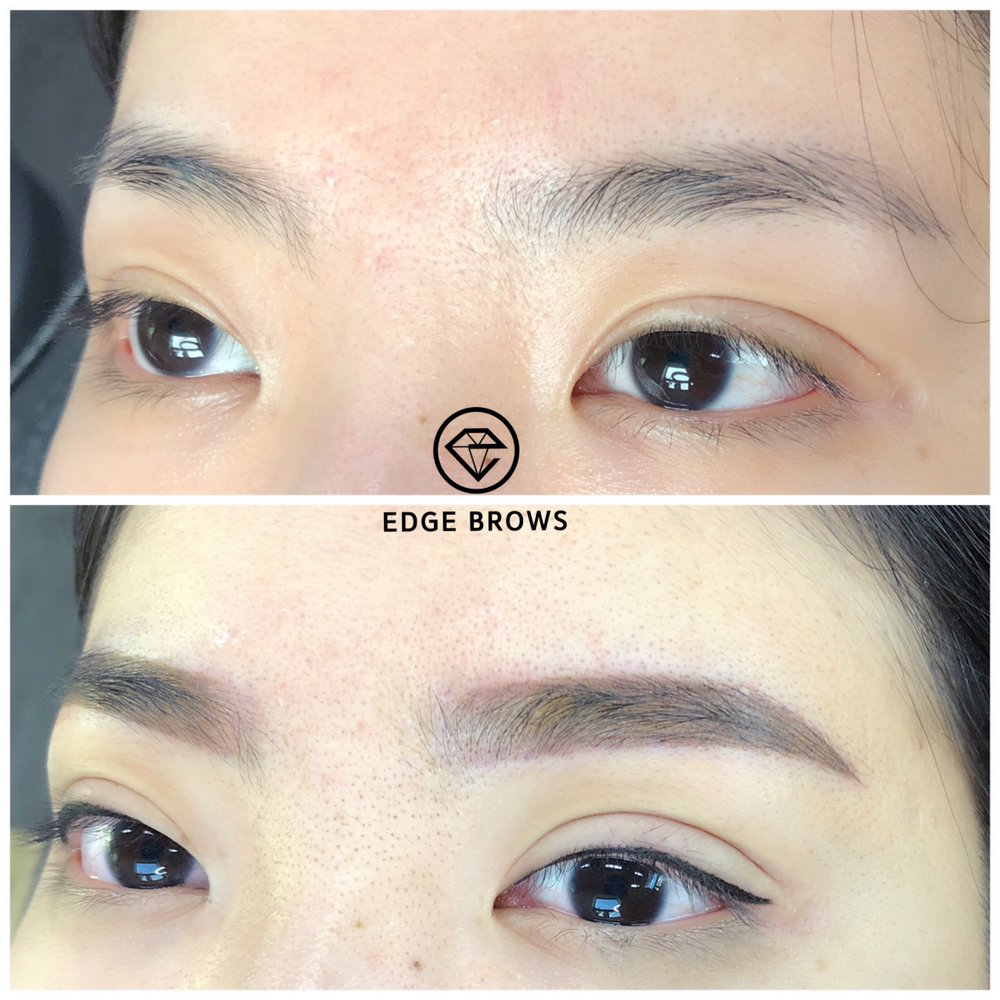 Natural Style Eyeliner And Eyebrows We Offer Manual Micro Shading