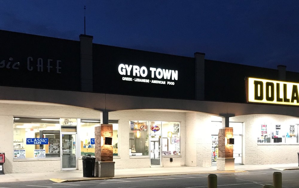 Food from Gyro Town