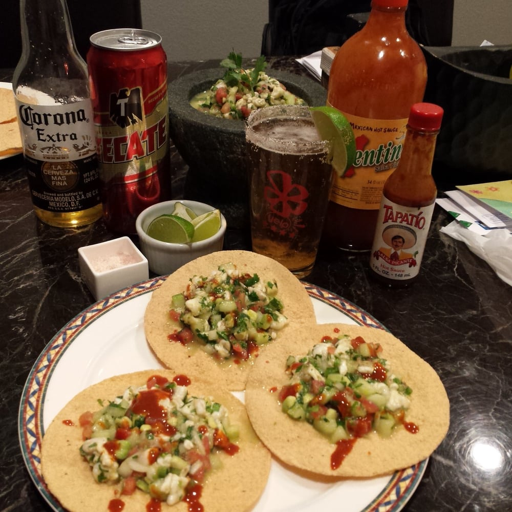 Ceviche Dinner...ingredients Courtesy Of Cardenas (except