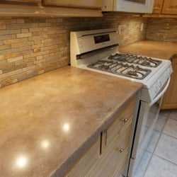 Photo Of Gross Tile Custom Flooring   Wichita, KS, United States. Concrete  Countertop
