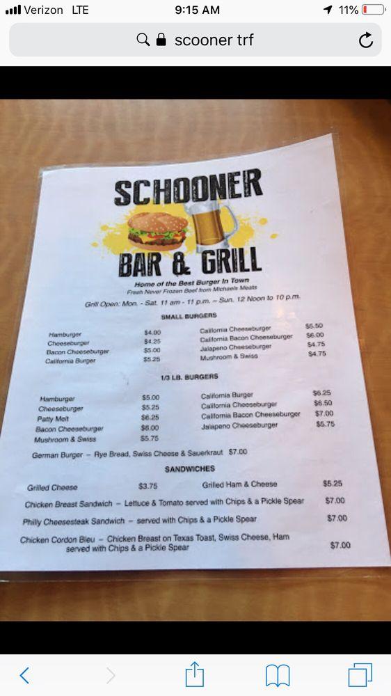 Schooner Bar & Grill: 212 2nd St E, Thief River Falls, MN