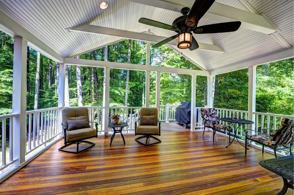 Porch and deck addition in annandale va yelp for Moss building design