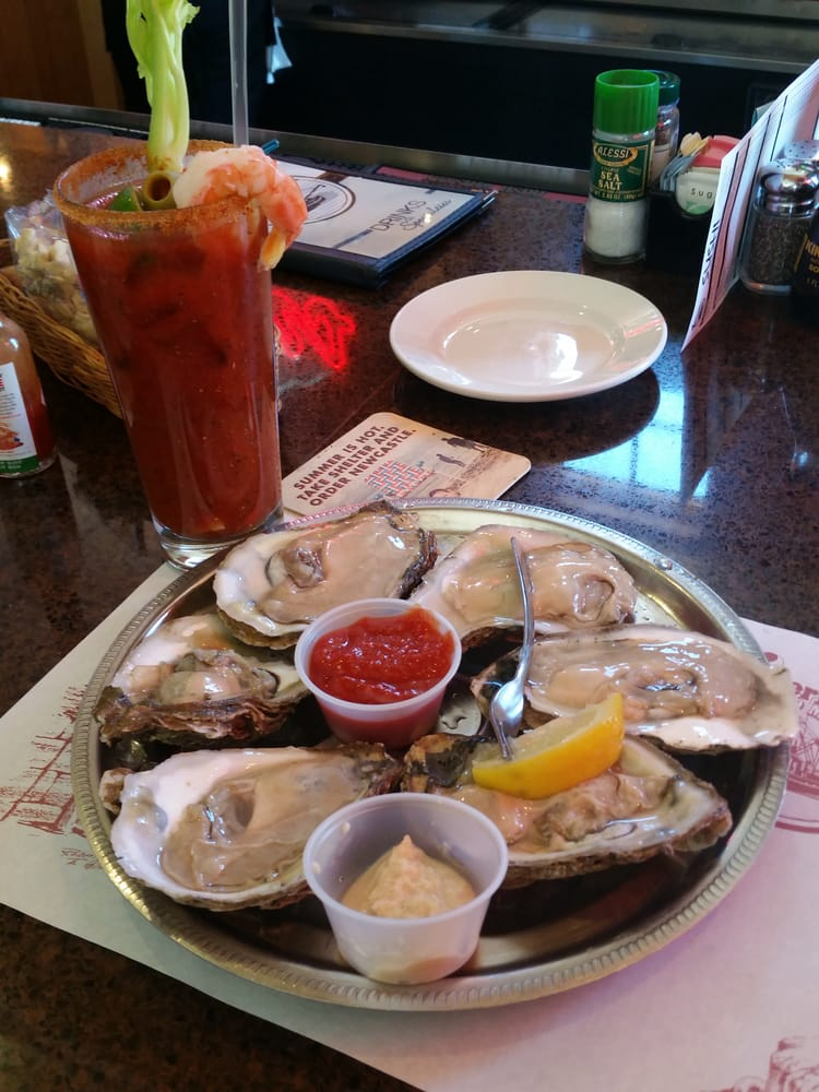 Bloody Mary Oysters On The Half Shell Yelp