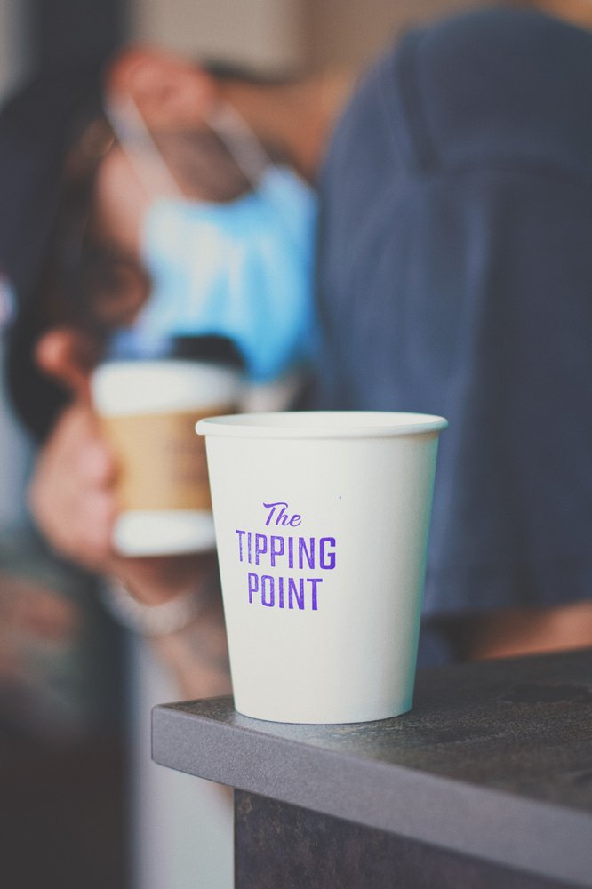 The Tipping Point Coffee: 214 Travis St, Houston, TX
