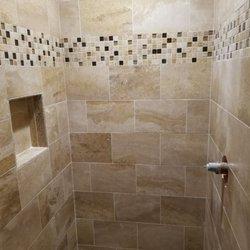 Photo Of Tile By Jay Virginia Beach Va United States Travertine Shower