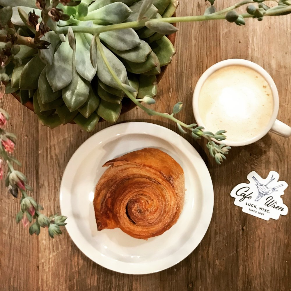 Cafe Wren: 2596 Hwy 35, Luck, WI