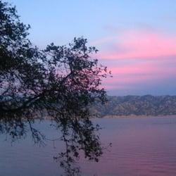 Photo Of Lake Berryessa Marina Resort Napa Ca United States Pink